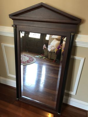 Framed cherry mirror for Sale in Millersville, MD