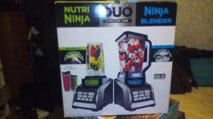 Nutri ninja and ninja blender combo pack for Sale in Modesto, CA