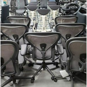"⭐BRAND NEW W/TAGS HERMAN MILLER REMASTERED AERON POSTURE-FIT SL SIZES ""A, B, C"" FULLY ADJUSTABLE ARMS SEAT ANGLE TILT LOCK TILT TENSION ADJUSTMENTS ⭐ for Sale in Alhambra, CA"