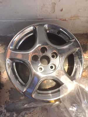 Never used new chrome rims for Sale in Valley View, OH