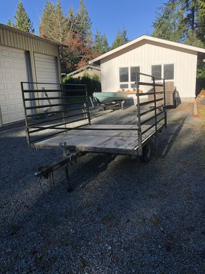 Yacht club snowmobile/quad trailer for Sale in Sedro-Woolley, WA