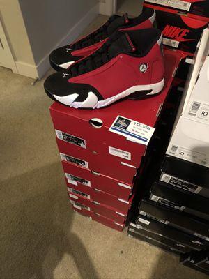 Nike air Jordan 14 toro size 8.5 10.5 11 11.5 12 new for Sale in Bellevue, WA