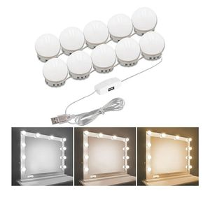 Hollywood Style Vanity Mirror Lights Kit, Adjustable Color and Brightness with 10 LED Light Bulbs, Lighting Makeup Vanity (Mirror Not Include) for Sale in Garden Grove, CA