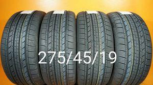 4 New tires 275/45/19 Llantas nuevas for Sale in Chula Vista, CA