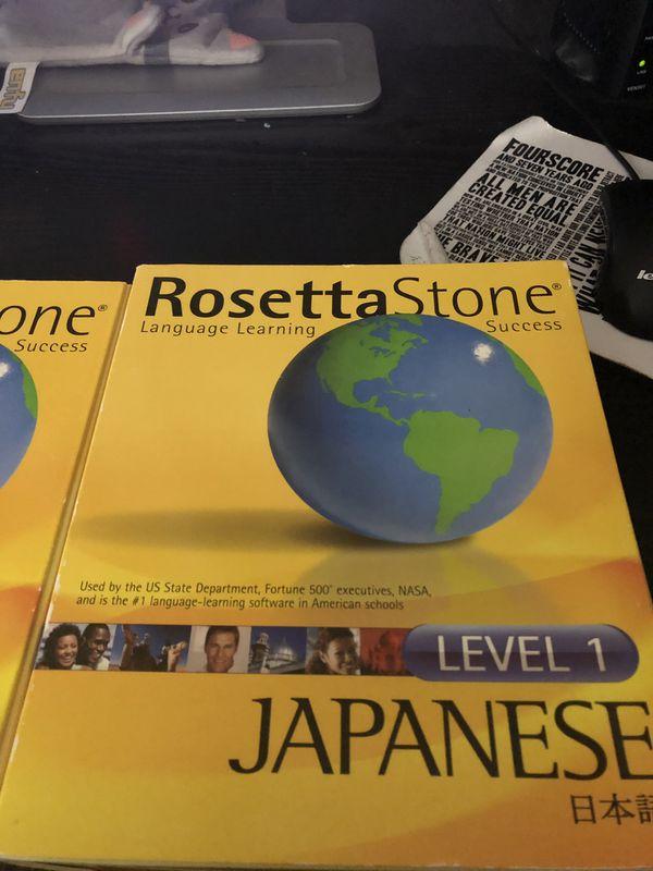 Rosetta Stone Japanese 1 & 2 version2
