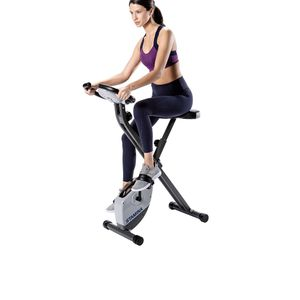 New Stamina Cardio Exercise Bike with Heart Rate Sensors and Extra Wide Padded Seat, folding design for storage for Sale in Salinas, CA