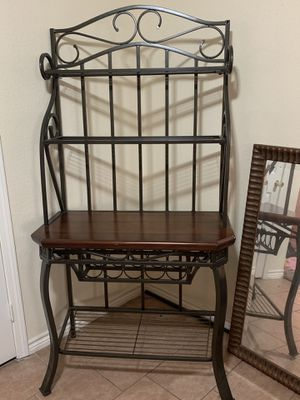 Bakers rack, living room set, and dining table for Sale in Houston, TX