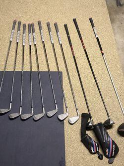Taylor Made , M5 Irons Sw, Pw -5, Sim 4 Iron, M4 Hybrid , M4 3 Wood, M5 Driver for Sale in Camp Pendleton North,  CA