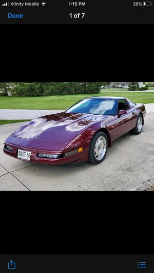 1992 Chevy corvette 40th anniversary special edition for Sale in Manteca, CA