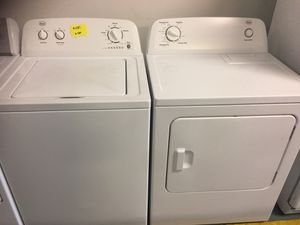 Washer and dryer electric for Sale in Las Vegas, NV