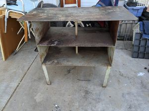 Solid metal workbench for Sale in Chandler, AZ