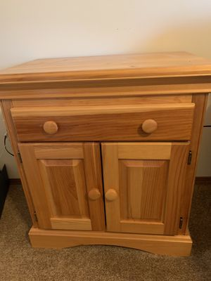 Pine dresser, night stand and armoire for Sale in Wichita, KS