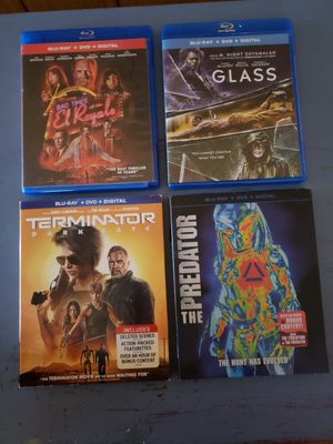 4 Bluray Bundle for Sale in Chicago, IL