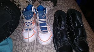 Jordan's and black nike for Sale in Montrose, CO