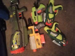Nerf guns no ammo for Sale in Stockton, CA