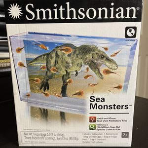Smithsonian Sea Monsters Hatch And Grow Your Own Prehistoric Pets! New for Sale in Fort Lauderdale, FL