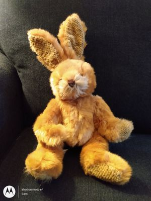 """Vintage NEW LOOKS by Flowers, Inc. Balloons TAN 13"""" Bunny Plush Stuffed Animal for Sale in Belleville, MI"""