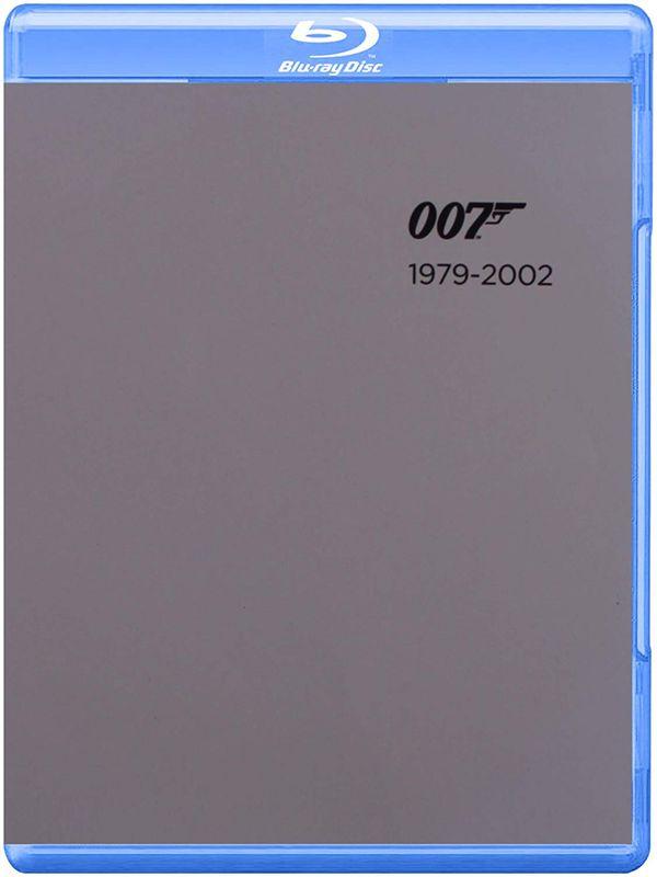 James Bond Blu-Ray disc movie collection