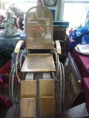 Antique wooden wheelchair for Sale in Saint Joseph, MO