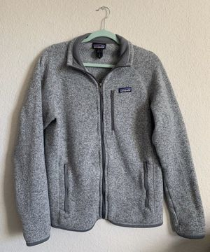 Gray Patagonia Zip Up Fleece for Sale in Naperville, IL
