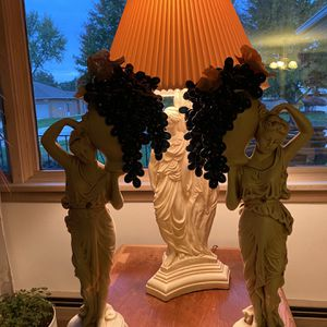 Vintage Marwal Statues And lamp for Sale in Cuyahoga Heights, OH