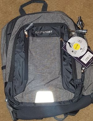 New! EastSport Gray Laptop Backpack for Sale in Moreno Valley, CA