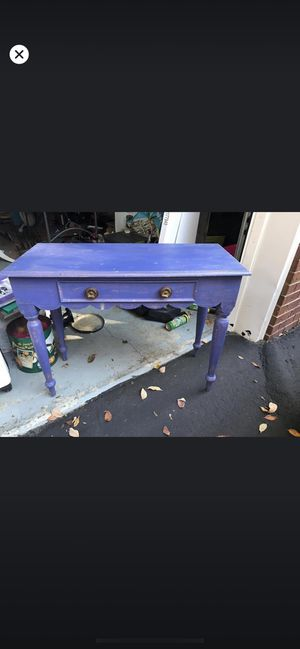 Blue console table for Sale in Mt. Juliet, TN