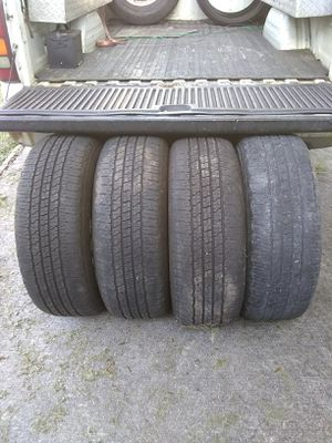 (4) 275/65r18 Goodyear tires 275/65/18 18 inch for Sale in Port St. Lucie, FL