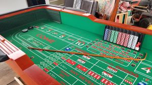 Regulation (12 foot ) Casino Craps table. for Sale in Flora, MS