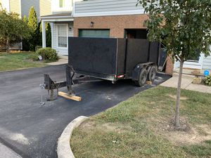 2012 heavy Duty tilt trailer for Sale in Westerville, OH