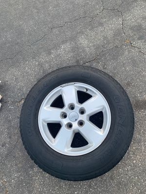 2012 Jeep Laredo wheels and tires for sale. $180 all 4 for Sale in Commerce, CA