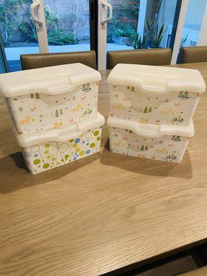 4 Huggies Baby Wipes Dispenser Tub box Disney for Sale in Irvine, CA