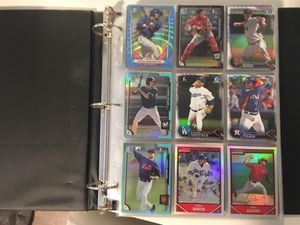 270 Assorted Baseball Cards with Binder! Inserts & Stars! for Sale in Long Beach, CA
