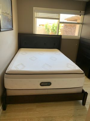 Queen Headboard/Frame for Sale in Huntington Beach, CA