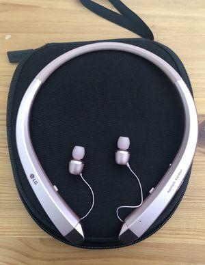 LG TONE INFINIM Bluetooth Wireless Headset for Sale in Redlands, CA