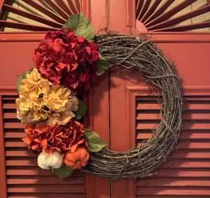 Fall wreath for Sale in Prospect, CT