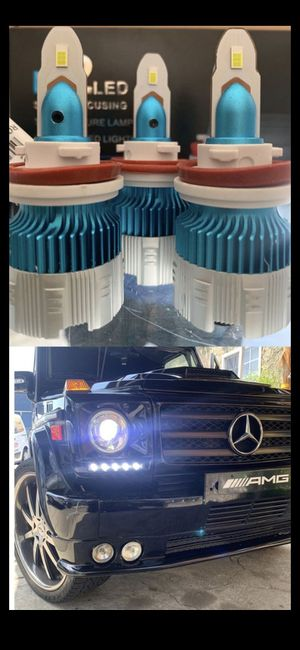 Mi2 Csp led headlights 30$ free license plate LEDs with purchase for Sale in Los Angeles, CA