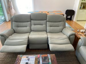 Leather Reclining Sofa and Loveseat for Sale in Vero Beach, FL