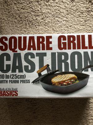 Cast iron Grill for Sale in Alexandria, VA