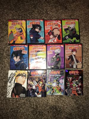 Naruto COMPLETE DVD set for Sale in Roy, WA