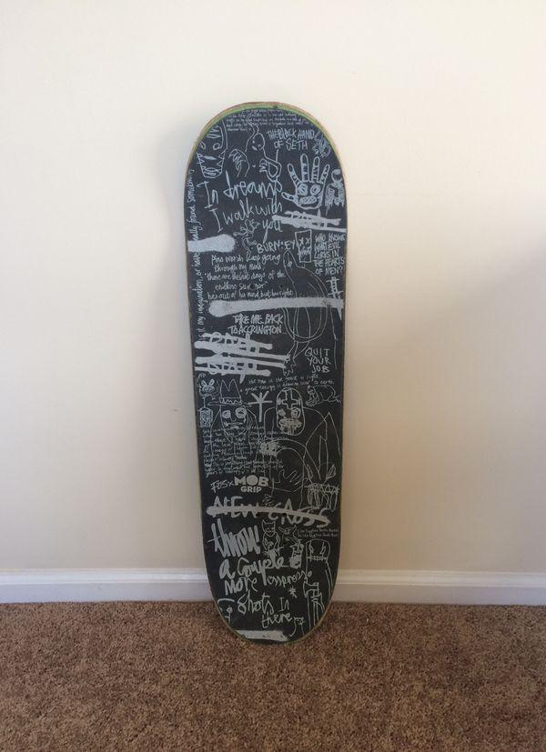 Blood Wizard [Jeremy Gurney] Skateboard