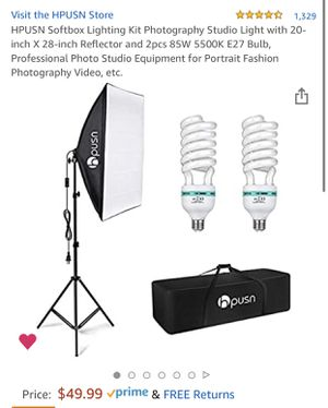 NEW!!! Professional Photography Lighting Kit for Sale in Mesa, AZ