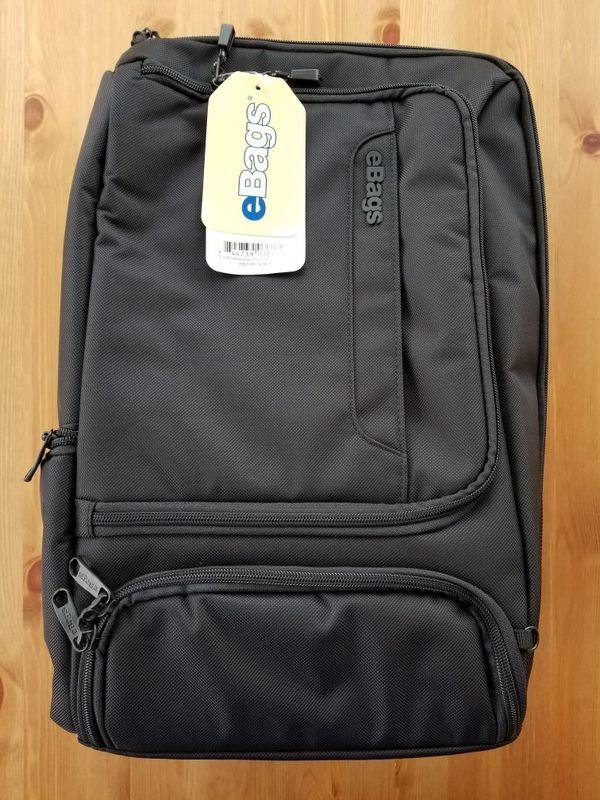 eBags TLS Professional Slim Laptop Backpack brand new sealed