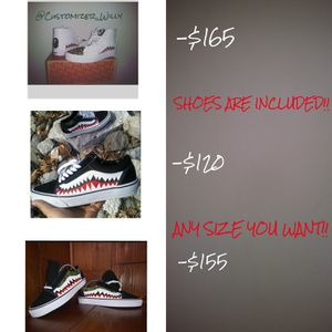 Custom Bape Vans for Sale in Silver Spring, MD