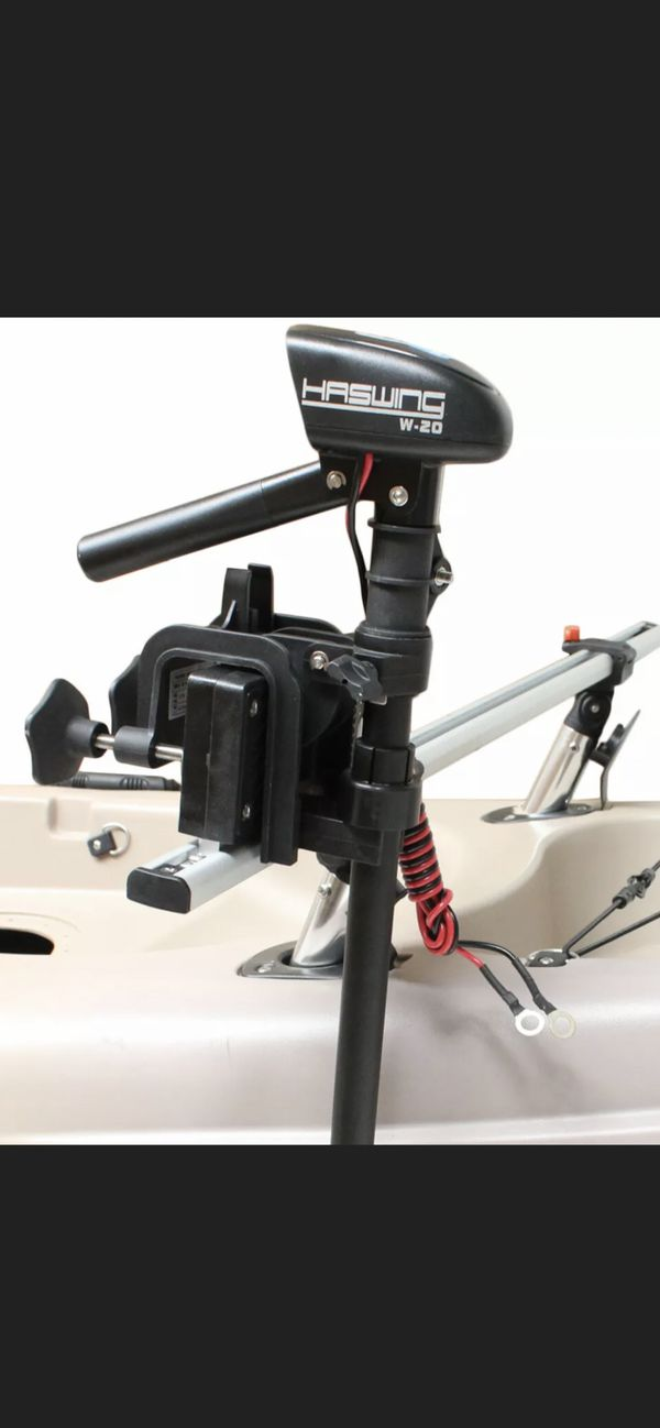 Haswing 12v 20lbs inflatable boat/kayak electric Trolling motor