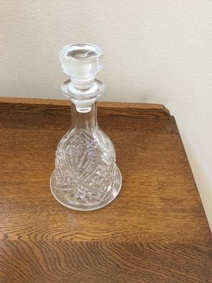 Lead crystal decanter for Sale in Temecula, CA