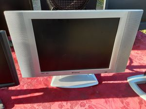 Polaroid 16inches widescreen computer monitor and TV with VGA and power cords for Sale in Washington, DC