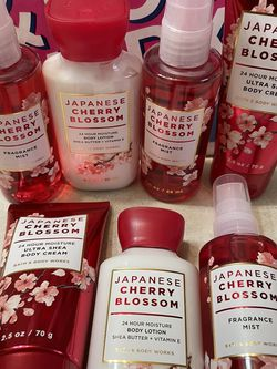 NEW BATH AND BODY WORKS FRAGRANCE JAPANESE CHERRY 🍒 BLOSSOM for Sale in Tacoma,  WA