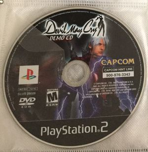Devil may cry demo disc for ps2 for Sale in Houston, TX