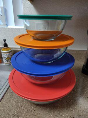 Pyrex glass bowl mixing set for Sale in Mesa, AZ